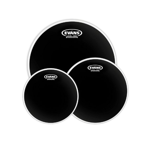 Evans Onyx 2-Ply 10, 12, 16 inch Rock Tom Pack - Coated - ETP-ONX2-R